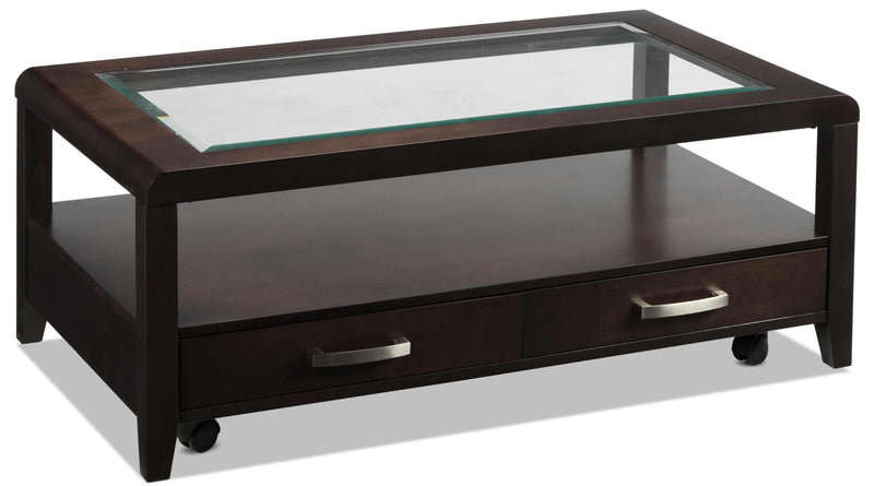 Felicia Coffee Table - Espresso