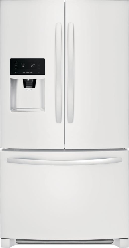 Frigidaire White French Door Refrigerator (26.8 Cu. Ft.) - FFHB2750TP