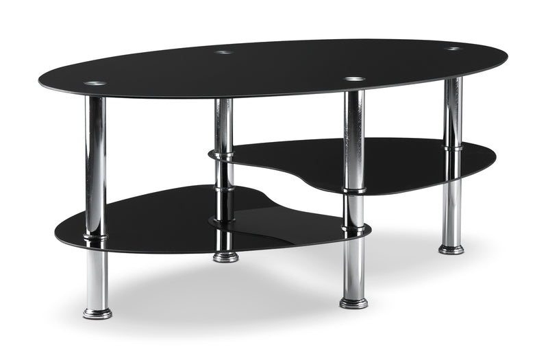 Oriana Coffee Table - Black