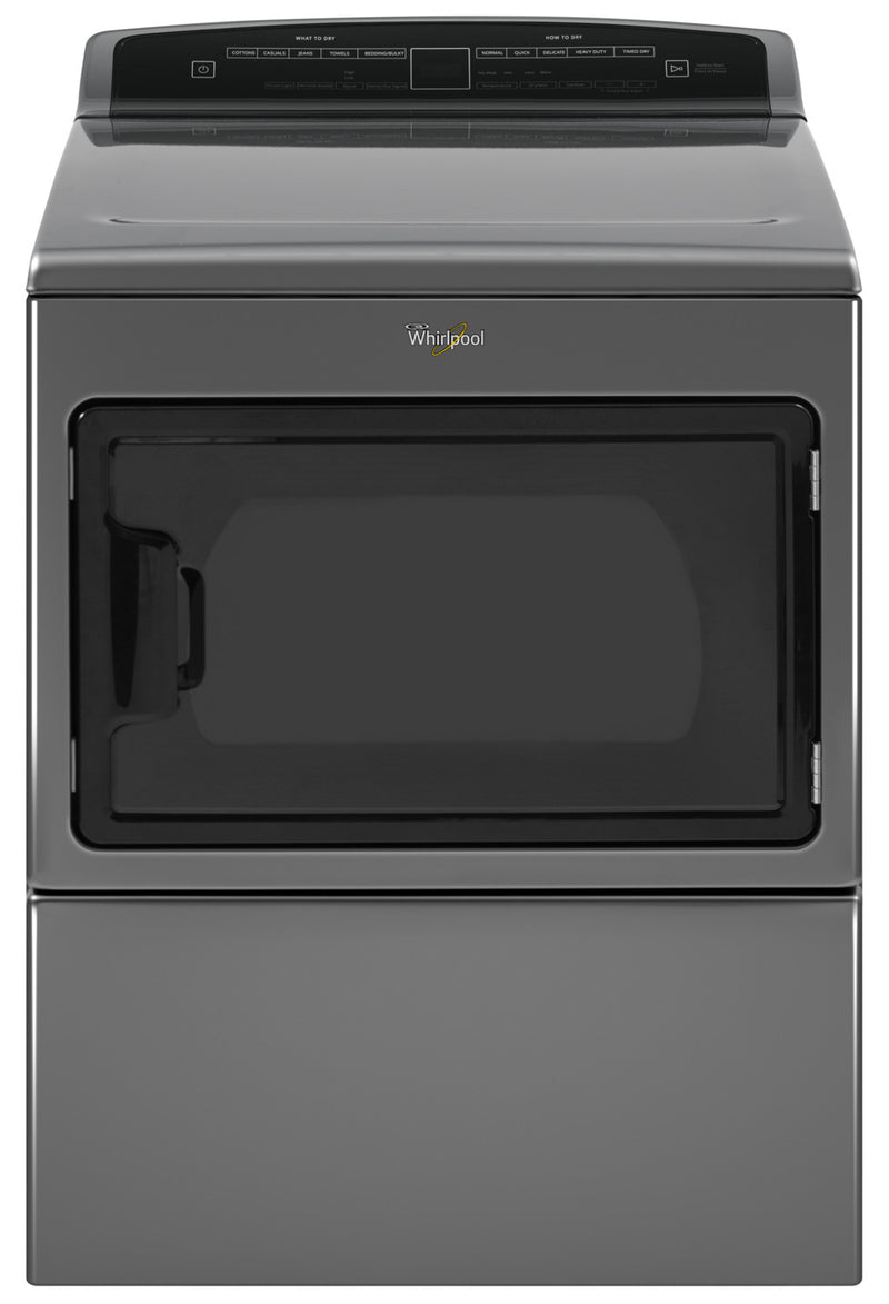 Whirlpool Chrome Shadow Electric Dryer (7.4 Cu. Ft.) - YWED7500GC