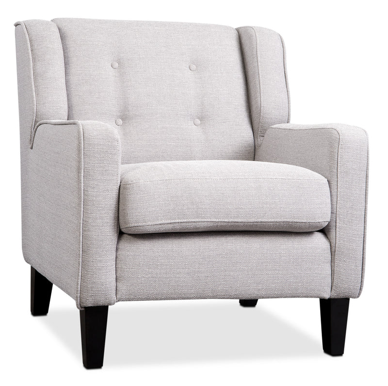 Stella Accent Chair - Light Grey