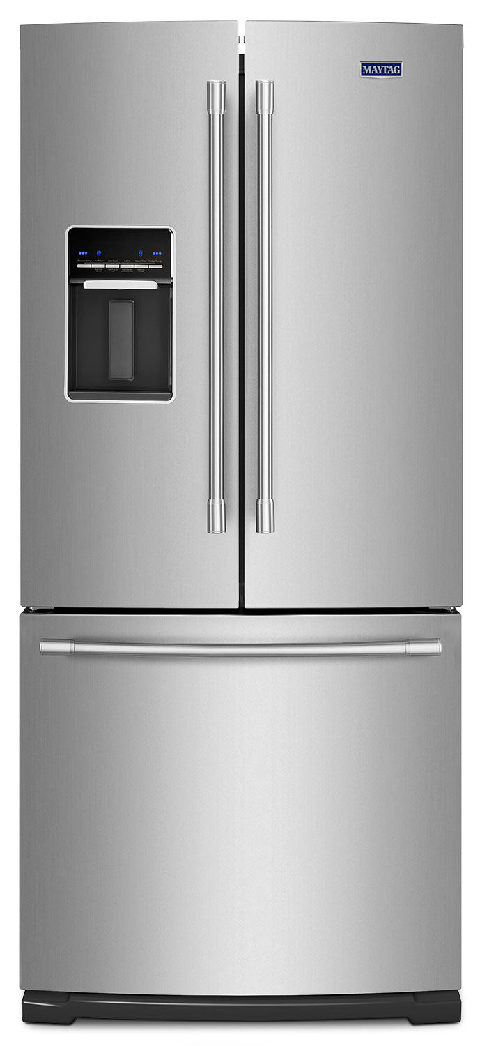 Maytag Fingerprint-Resistant Stainless Steel French Door Refrigerator (20 Cu. Ft.) - MFW2055FRZ