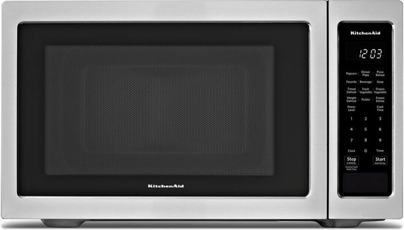 KitchenAid Stainless Steel Countertop Microwave (1.6 Cu. Ft.) - YKMCS1016GS