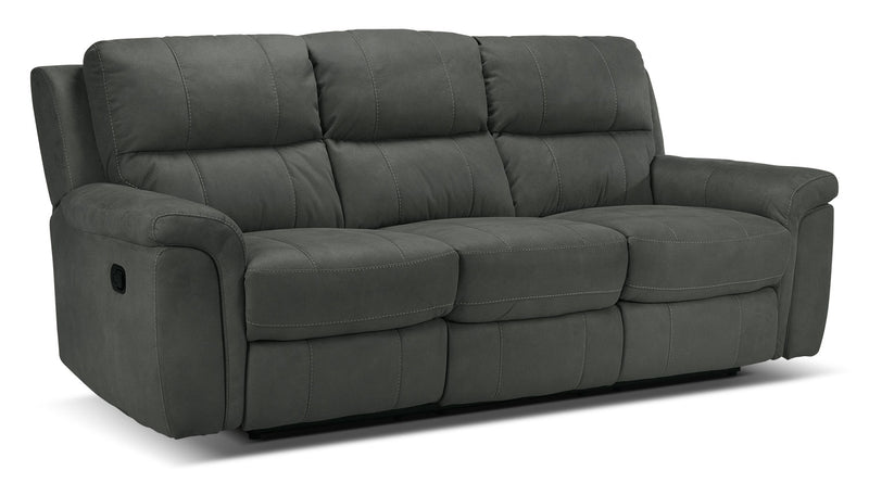 Roarke Reclining Sofa - Charcoal