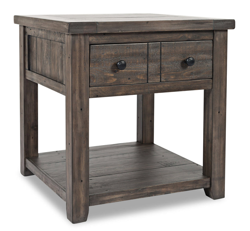 Madison End Table – Brown