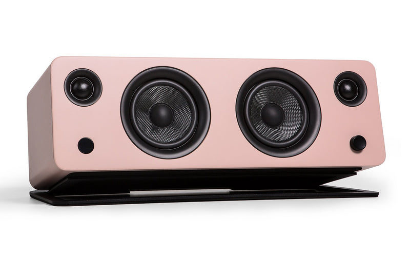 Kanto SYD Powered Speaker with Bluetooth® and Phono Preamp - Matte Pink|Haut-parleur SYD de Kanto Living avec Bluetooth - rose mat