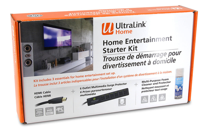 UltraLink Home Entertainment 4K Starter Kit|Trousse de démarrage UltraLinkMD 4K pour divertissement à domicile