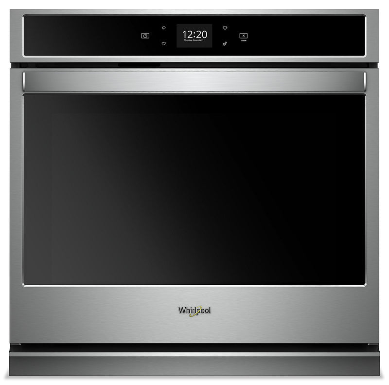 Whirlpool 4.3 Cu. Ft. Smart Single Wall Oven - WOS51EC7HS|Four mural simple intelligent Whirlpool de 4,3 pi3 - WOS51EC7HS