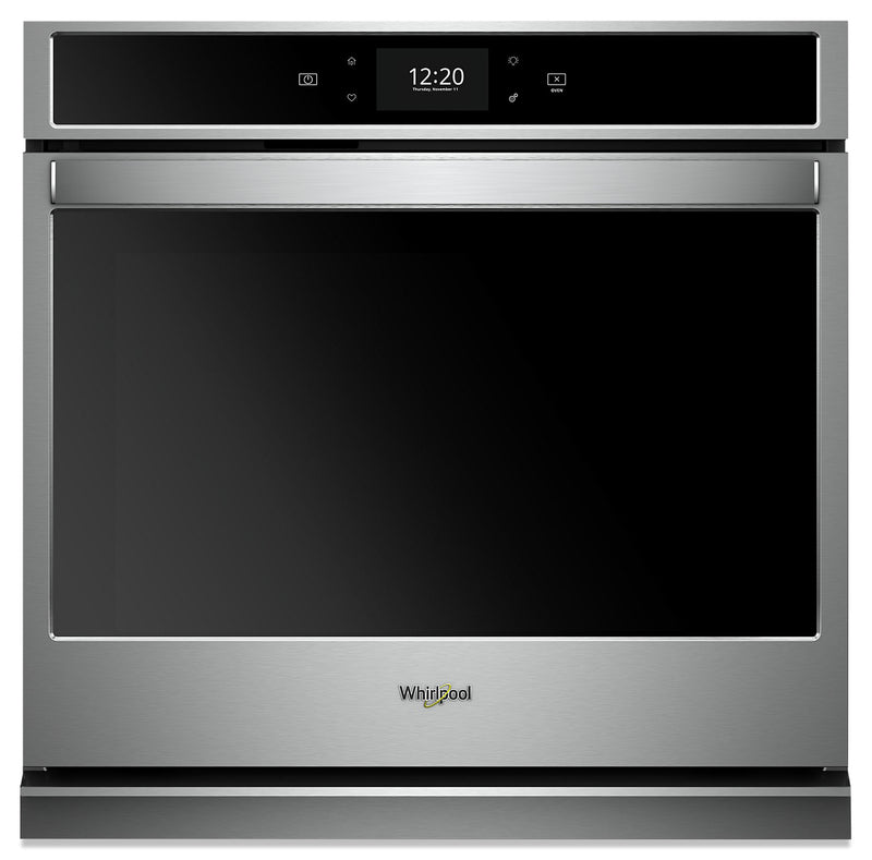 Whirlpool 4.3 Cu. Ft. Smart Single Wall Oven - WOS72EC7HS|Four mural simple intelligent Whirlpool de 4,3 pi3 - WOS72EC7HS
