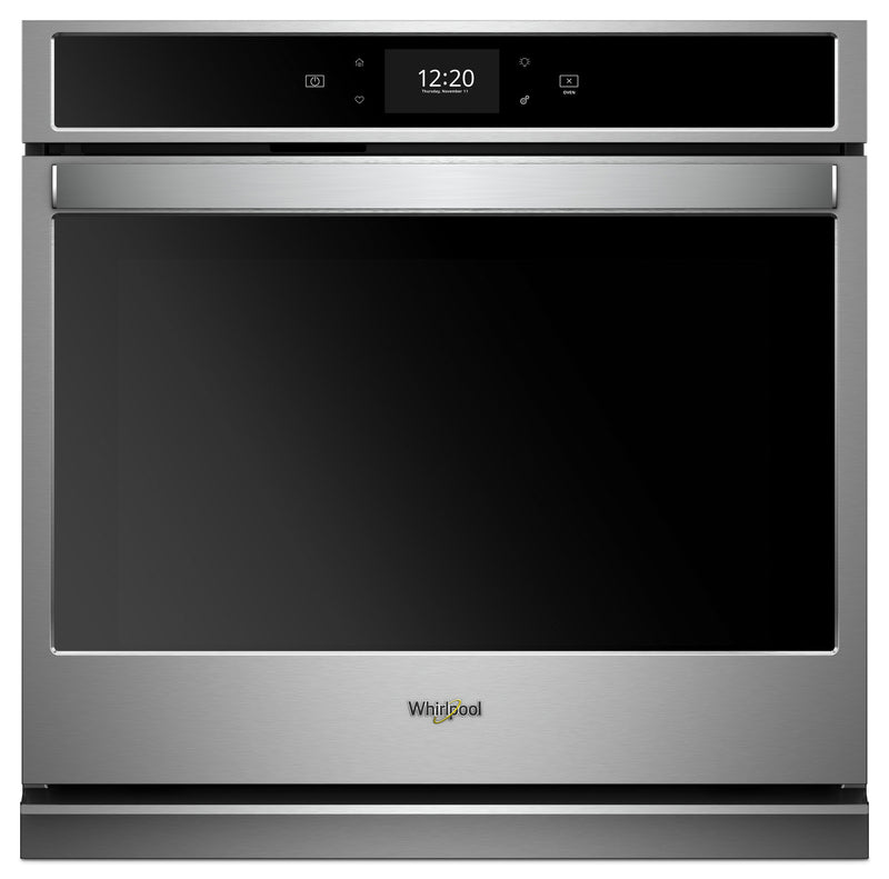 Whirlpool 5.0 Cu. Ft. Smart Single Wall Oven with True Convection - WOS72EC0HS|Four mural simple intelligent Whirlpool 5,0 pi3 avec convection véritable - WOS72EC0HS
