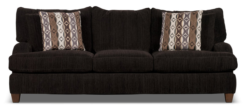 Putty Chenille Sofa - Chocolate|Sofa Putty en chenille - chocolat