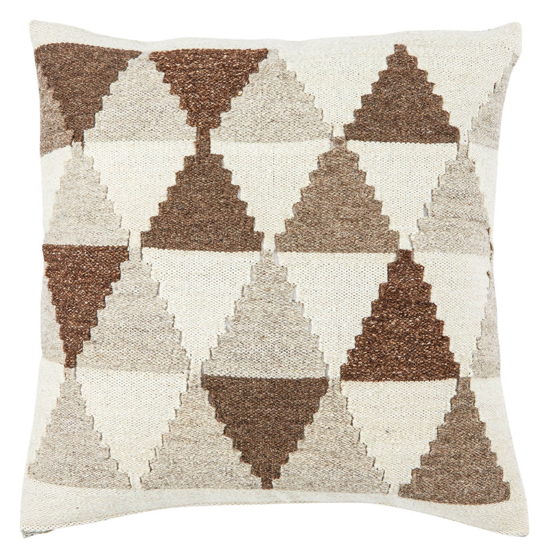 "Forsyth Poly Fill Decorative Cushion - Turtledove/Goat (20""X20"")"
