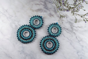 Love Wins Earrings Turquoise