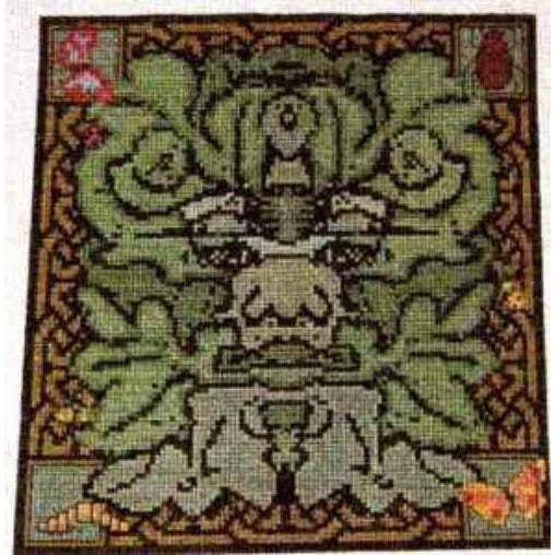 Celtic Obsessions Green Man Cross Stitch Pattern