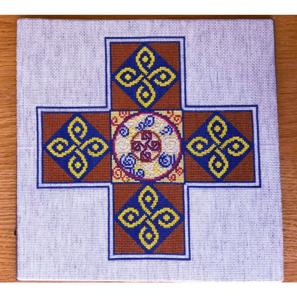 Celtic Obsessions Ancient Celtic Cross - Cross Stitch Pattern