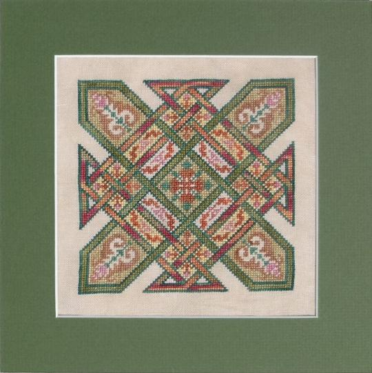 Celtic Quilts: Kentucky Chain Cross Stitch Pattern
