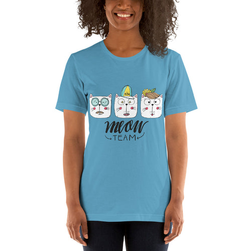 The Meow Team Short-Sleeve Unisex T-Shirt