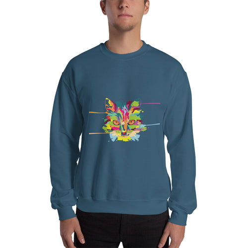 Cat Art Sweatshirt