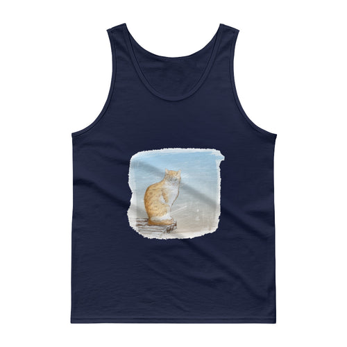 Cat Painting Tank top