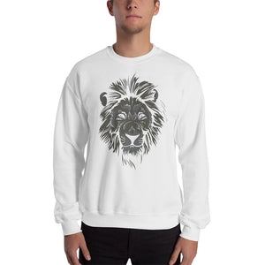 Monochrome Lion Sweatshirt