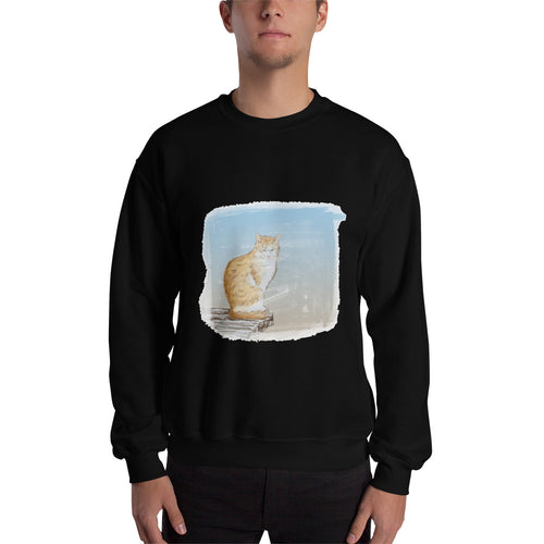 Cat Painting Sweatshirt