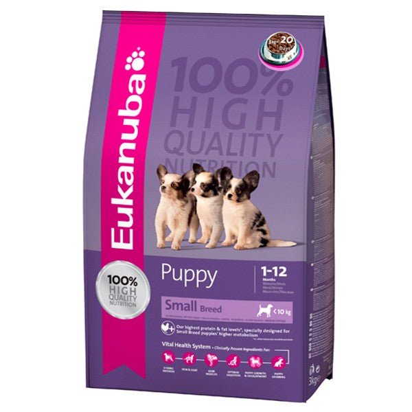 Eukanuba Puppy Small Breed 7.5Kg