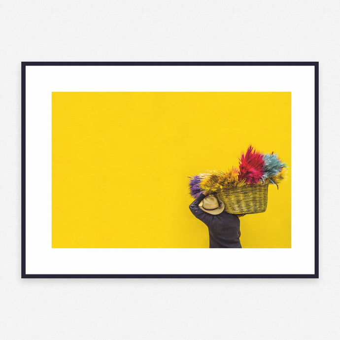 Yellow Poster #380 - Print Art - Exclusive Posters and Prints Online