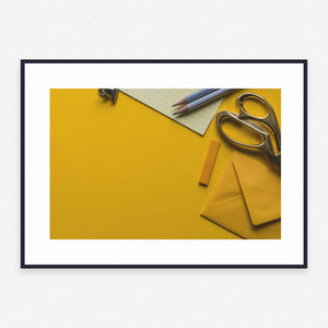 Yellow Poster #2527 - Print Art - Exclusive Posters and Prints Online
