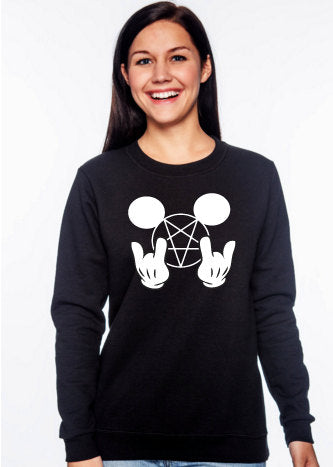Metal Mickey Mouse Sweatshirt