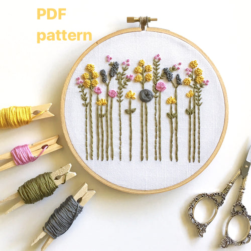 hand embroidery pattern
