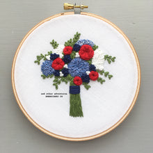 Patriotic DIY Hand Embroidery Pattern by And Other Adventures Embroidery Co