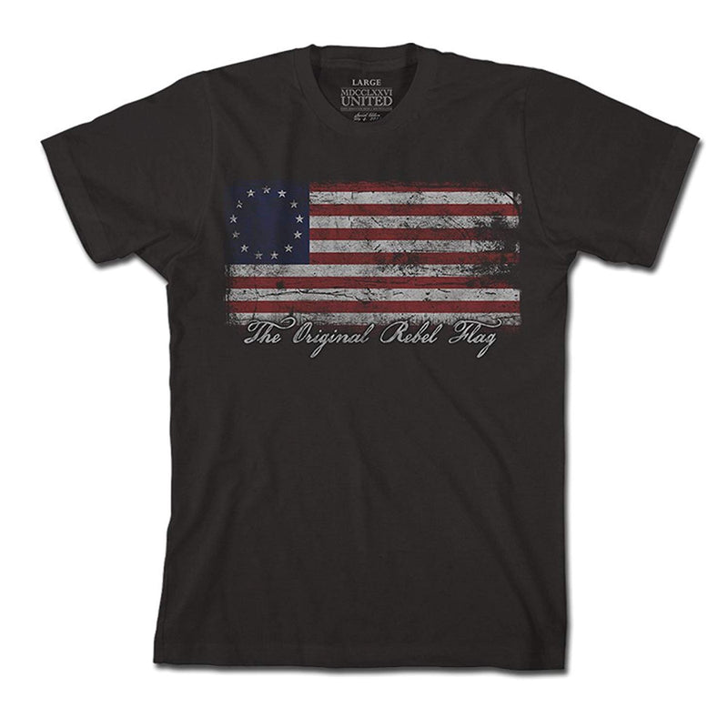 1776 United Men's Original Rebel Flag Shirt