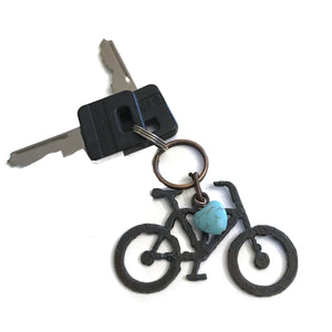 Bike Love Keychain