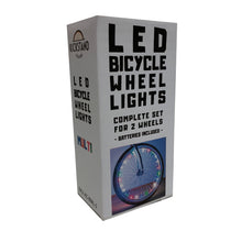 LED Bicycle Wheel Lights, Complete Set For Both Wheels