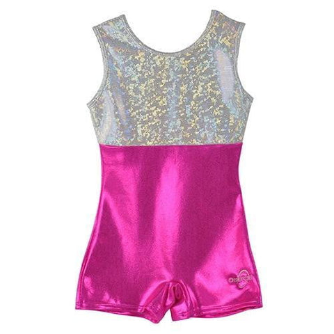 O3GL023 Obersee Girl's Girls Gymnastics Leotard - Nina Purple