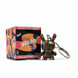 Andy Warhol Dunny Keychain Series Single Blind Box by Kidrobot - iamRetro.com