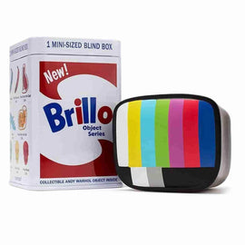 Andy Warhol Brillo Box Mini Series by Andy Warhol x Kidrobot - iamRetro.com