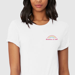 KINDNESS IS COOL TEE - EMBROIDERED
