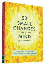 52 Small Changes for the Mind (Book by Brett Blumenthal) - Books - Spiffy