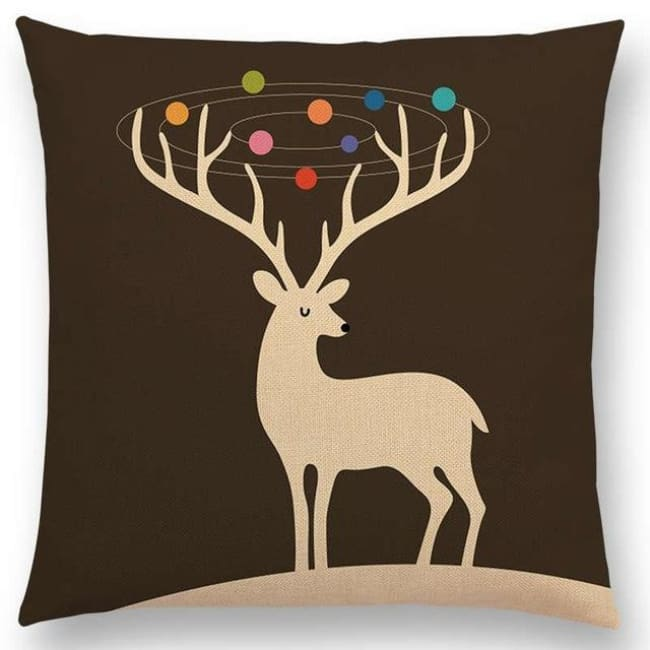 Scandi Retro Cushion Covers - A001302 / 45X45Cm No Filling - Home