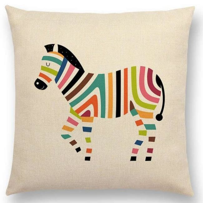 Scandi Retro Cushion Covers - A001304 / 45X45Cm No Filling - Home