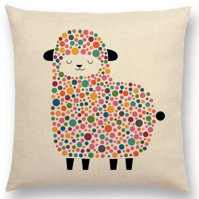 Scandi Retro Cushion Covers - A001311 / 45X45Cm No Filling - Home