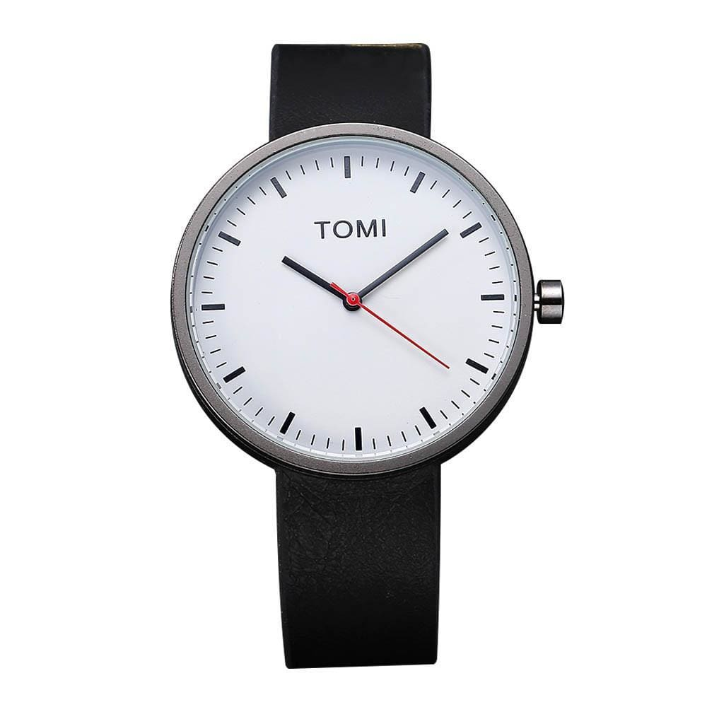 Tomi Baker Retro Watch - Silver - Watches