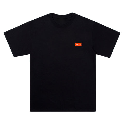 The North Raval - 08001 Black Tshirt