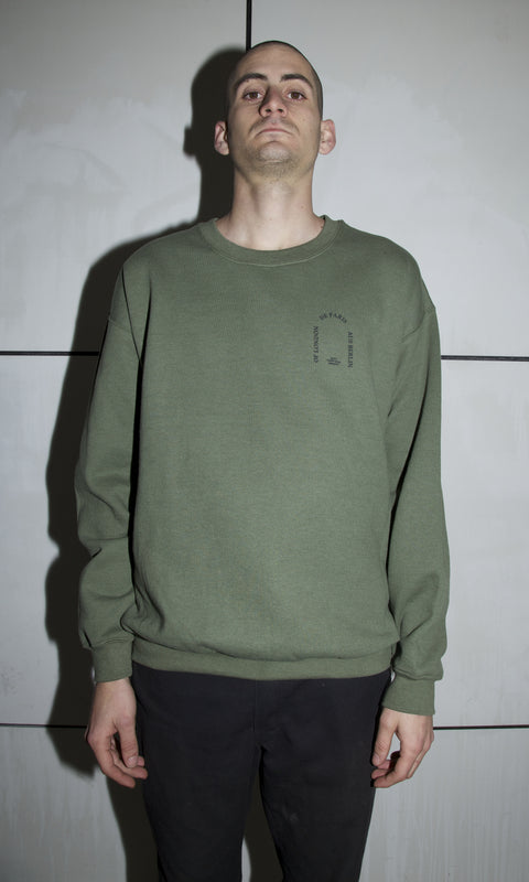 De Paris Green Crewneck