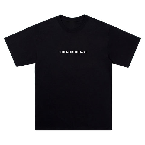 "The North Raval - tshirt ""chest"" Black"