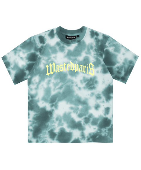 Wasted Paris T-Shirt Marble DYE Lake Blue