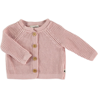 My Little Cozmo Knit Cardigan Pink
