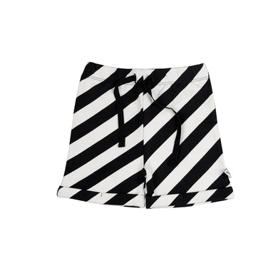 CarlijnQ Electric Zebra shorts
