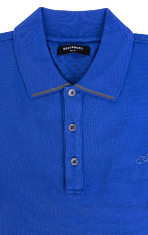 MEDIUM BLUE POLO SHIRT